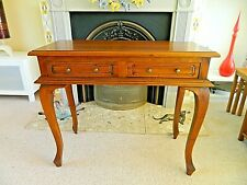 Ancient Mariner Solid  Mahogany Hall/Console Table, Cabriole legs