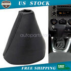 Leather Shifter Boot Shift Cover Fit For Hummer H3 Automatic 2005-2011 Black Usa