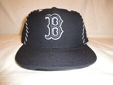 Boston Red Sox Navy Blue & White MLB Baseball Hat New Era 59Fifty 7 1/4