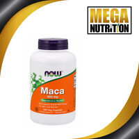 NOW Foods Maca Root 500mg 250 Veg Caps | Reproductive Health For Men and Women