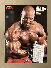 Shawn Ray / Lenda Murray Bodybuilding Fitness Color Poster