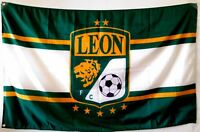 Club Leon Flag Banner Bandera 3x5 ft Mexico Futbol Soccer Panzas Verde Sticker