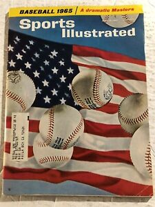 1965 Sports Illustrated BASEBALL PREV 64 World Series ST LOUIS CARDINALS Brock
