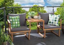 "schöne Gartenmöbel aus Akazienholz Balkon Sitzgruppe /""Balkony 1/"""