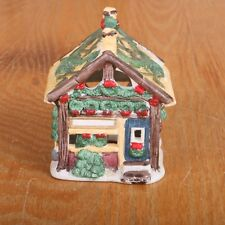Christmas Village Tree Shop Porcelain House