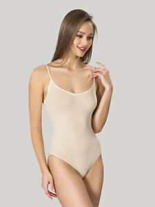 Damen Body Miederbody Formbody Taillenformer Korselett Bauchweg Spagehttiträger