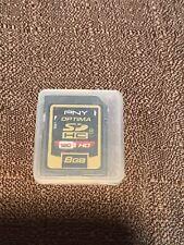 SD Card, Ultra High-Speed, High Capacity, Flash - PNY Optima 8GB*