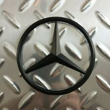 "New - Mercedes-Benz™ MB M-B Trunk Matte Black Star Emblem Badge 3.5"" 90mm AMG"
