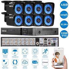 OWSOO 16CH Full 1080N AHD DVR 1500TVL CCTV Home Security Camera System Kit J0U5