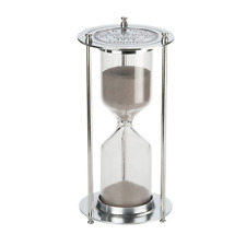 Hourglass『60 Minutes 』Sand Timer, KSMA Metal Sandglass One Hour Glass for Office