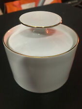 More details for thomas germany pottery medallion suger bowl with lid - free postage