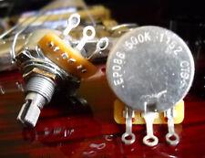 CTS 500K Short/Split Shaft Audio Taper Pot / Potentiometer ALLPARTS EP-086