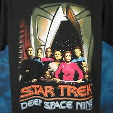vintage 1993 Star Trek Deep Space Nine T-Shirt Large sci fi tv show space 90s