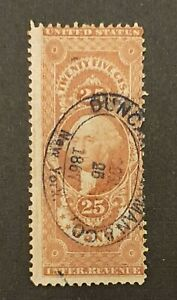 US Revenue Scotts R43 25 Cent Bond