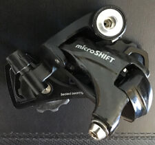 microSHIFT 11 Rear Derailleur - 11 Speed, Short Cage, Black, Carbon