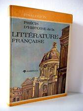 Précis d'Histoire de la Littérature Française - P. Salomon 1964