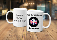 Supporting Our Armed Forces Personalised Coffee Mug 10% going 2 Help For Heroes