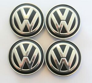 4x VW Golf Tiguan T-Roc Passat uvm Nabendeckel Felgendeckel Nabenkappe 5G0601171