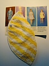 Completer Item Striped Terry Towel Wrap Only from Remco Libby Littlechap No Doll