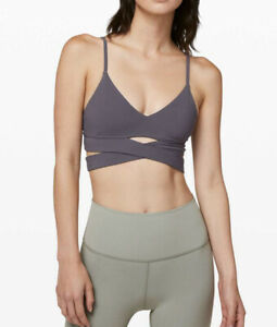NWT Lululemon Size 10 Still Now Bra MONW Moonwalk