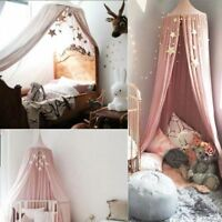 Girl Baby Bed Canopy Netting Bedcover Mosquito Net Curtain Bedding Dome Tent