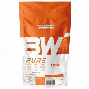 BW Pure 100% Micellar Casein Protein Powder Shake Drink Strawberry 1kg Fast&Free
