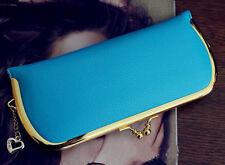 Fashion Women Leather Wallet Coin Purse Card Holder Clutch Evening Handbag Bag