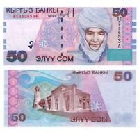 Pick 20 Kirgisien / Kyrgyzstan 50 Som 2002  / 8216594vvv