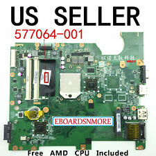 577064-001 AMD Motherboard for HP G61 Compaq CQ61 Laptop, incl Free CPU,US Loc A