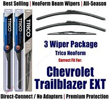 3pk Wipers Front/Rear NeoForm 2002-2006 Chevrolet Trailblazer EXT  16220x2/30160