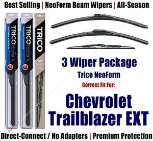 3pk Wipers Front/Rear NeoForm 2002-2006 Chevrolet Trailblazer EXT  16220x2/30160