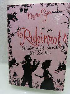 Kerstin Gier - RUBINROT - Liebe geht durch alle Zeiten - ungelesen & neuwertig