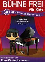 Klavier Noten : Bühne frei für Kids - 30 echt coole Klavierstücke - leicht - leM