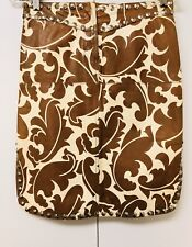 Limited Edition Etro Paisley Leather Skirt