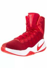 Men's Nike Hyperdunk 2016 844359-661 Red/White Basketball Shoes Size 18