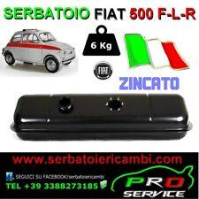 SERBATOIO 6Kg benzina NUOVO zincato FIAT 500 F-L-R made in ITALY