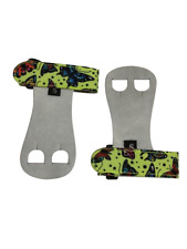 Push Athletic Gymnastics Youth Hand Grips (Green Butterfly, Medium)