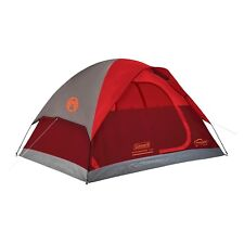 Coleman Flatwoods II 4 Person Dome Tent Weather Tec 10 Minute Set Up