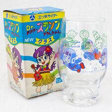 Dr. Slump Arale chan Retro Glass Mitsuya Cider JAPAN ANIME MANGA