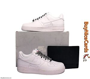 Nike '07 Air Force 1 White Foot Locker 35th Anniversary Deadstock Size 9