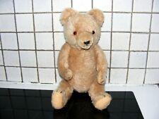 Thomas très bel ours ancien en parfait état remplis de paille hauteur 44 cm.
