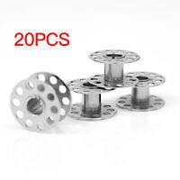 Metal Bobbins With 20pcs Sewing Machine Spools Yarn Sewing Spool Set