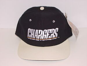 Vintage 90's San Diego CHARGERS NEW ERA SnapBack HAT Cap CLASSIC NEW Old Stock