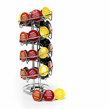 Revolving Spiral 32 Coffee Capsule Pod Holder Tower Stand Rack for Dolce Gusto