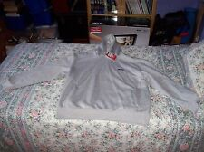 SLAZENGER GREY HOODED TOP, XXL, NEW WITH TAGS