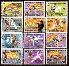 TCHAD Sport,vainqueurs des J.O 72  l'arc,volley-ball,basket ball,hand ball. 30T6