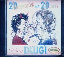 = KABARET DLUGI - 20 PRZEBOJOW NA 20-LECIE / CD