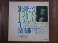 SAGA LP-XID5168 SCHUBERT LA galimar Trio D898 & D929. Lazlo VARGA & Nadas