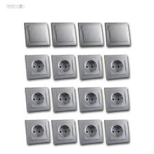 DELPHI Kit de démarrage, Set 16 ÉLÉMENTS 12x prise 4 x Interrupteur de lumière