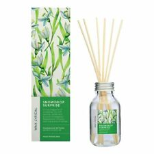 Wax Lyrical 100ml Reed Diffuser Christmas Florals Snowdrop Surprise